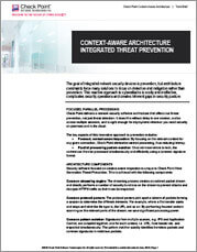 Screencapture of Context-aware Architecture Tech Brief
