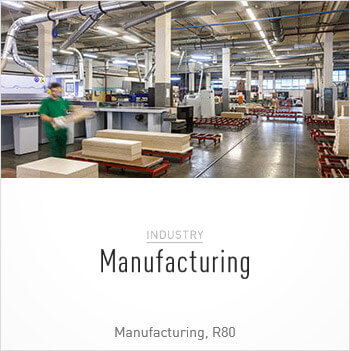 Tile image of Manufacturing Customer