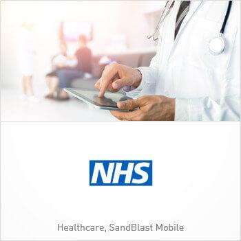 Tile image of Customer NHS