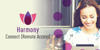 Immagine del riquadro di Harmony Connect Remote Access