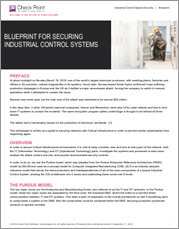 Blueprint for Securing Industrial Control Systems tile image