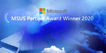 MSUS partner award winner 2020