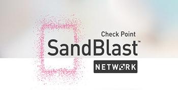 SandBlast Network logo tile